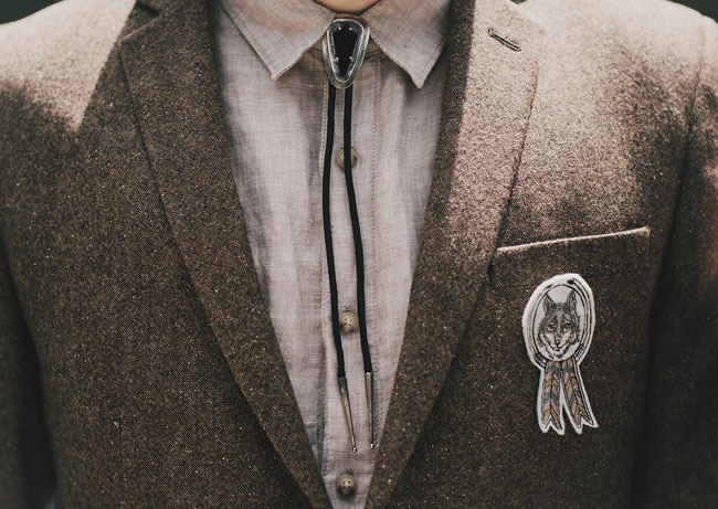 scout badge boutonniere