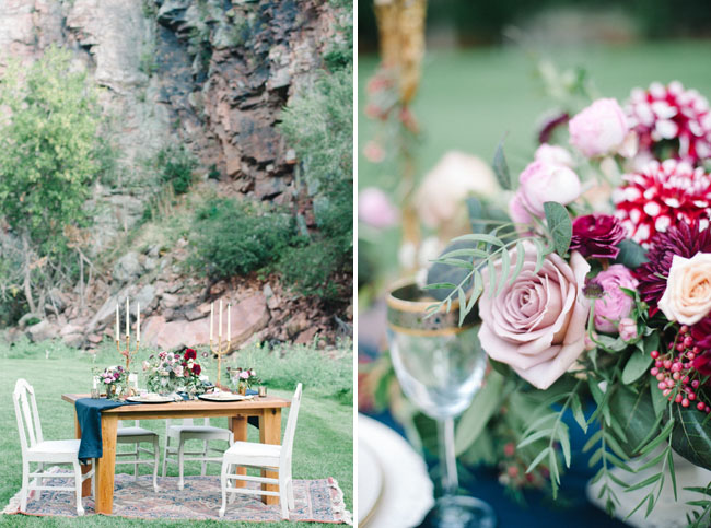 organic bold florals