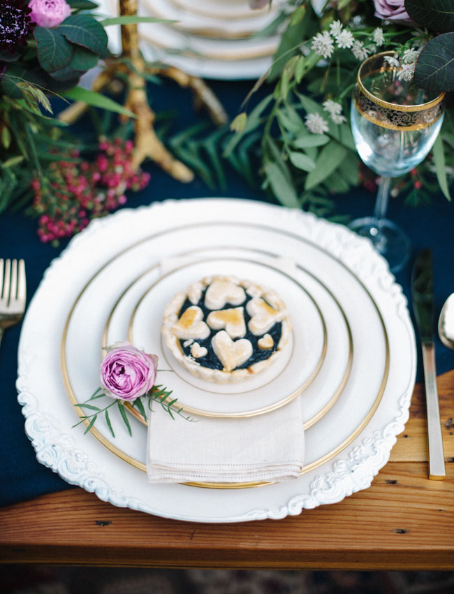 pie plate setting