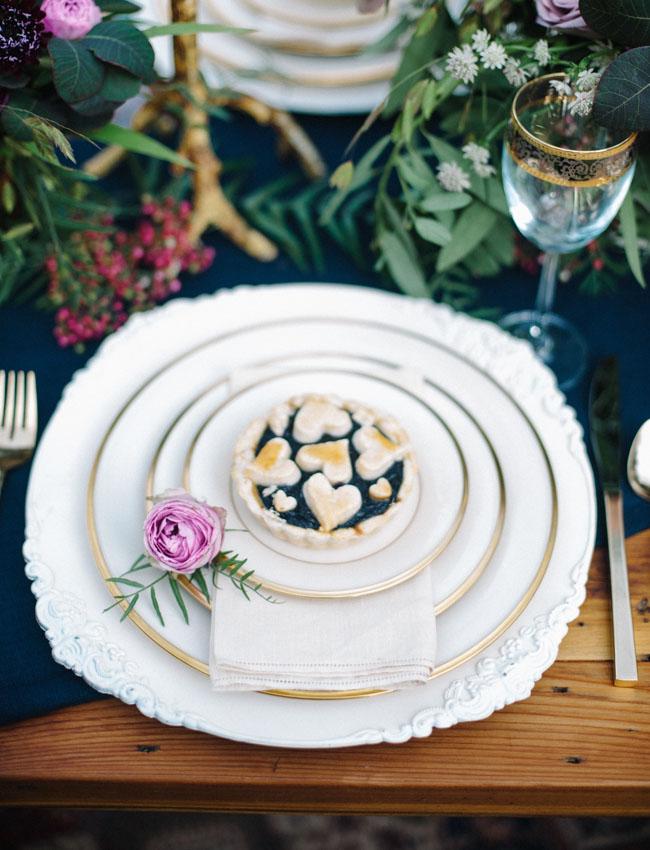 pie plate setting