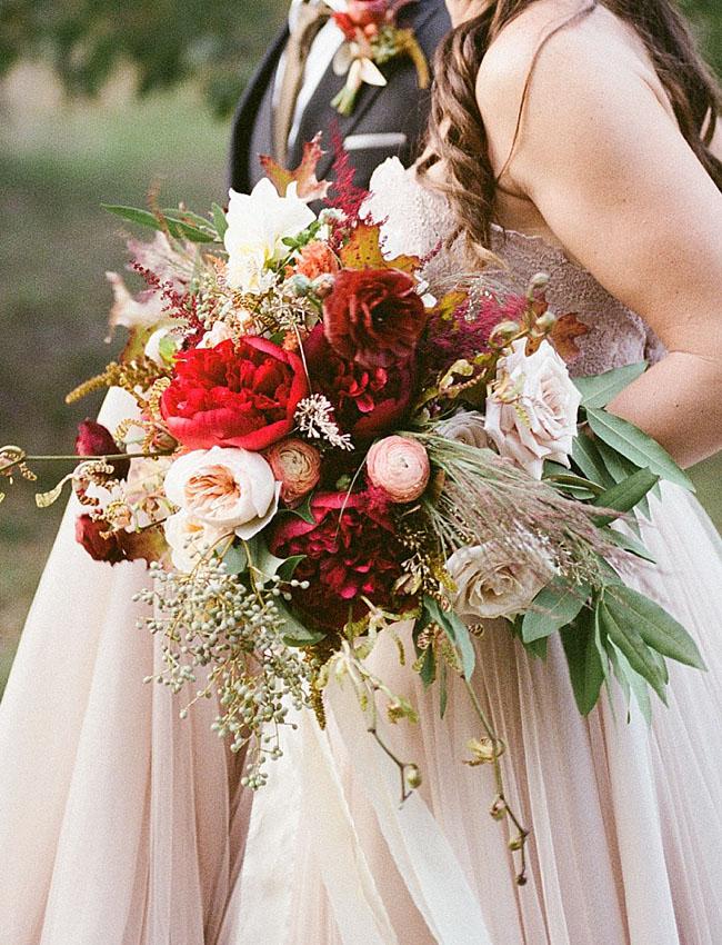 organic berry bouquet