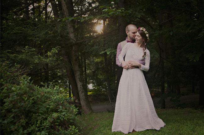 Poconos Mountain wedding