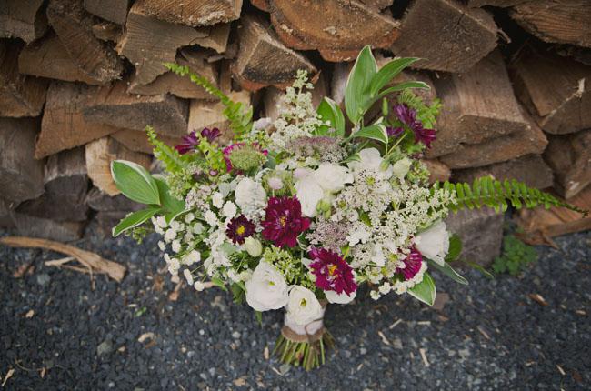 vintage bohemian bouquet