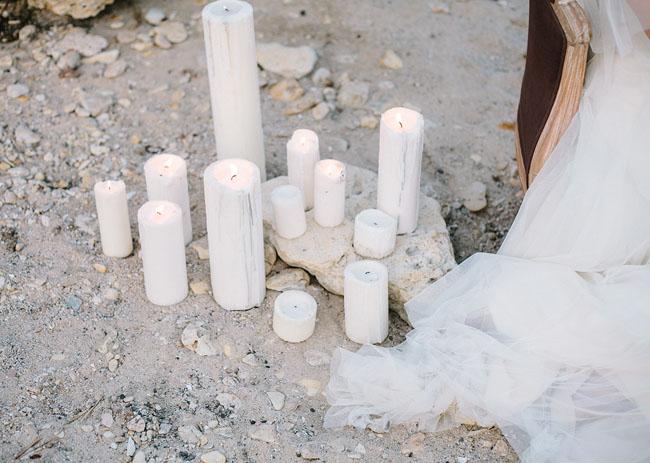 candle setting