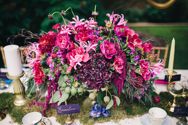 secret garden centerpiece