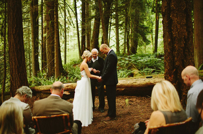Washington Forest Elopement
