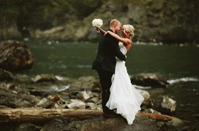 Snoqualmie Falls elopement