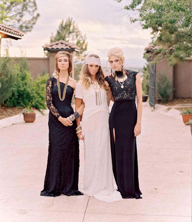 bohemian bridesmaids