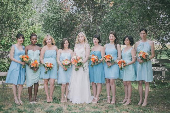 Wedding Dresses Baby Blue 52 Great pale blue bridesmaid dresses