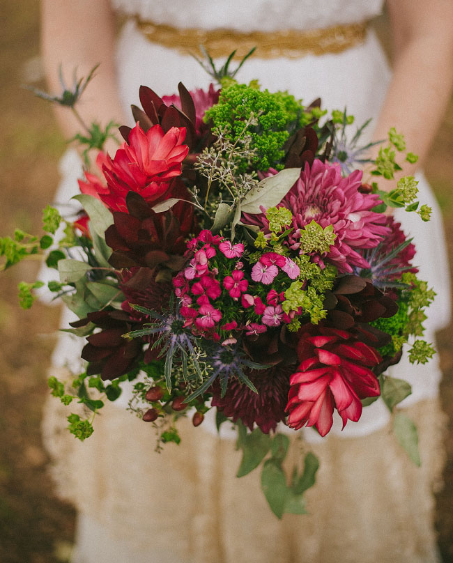 woodland berry bouquet