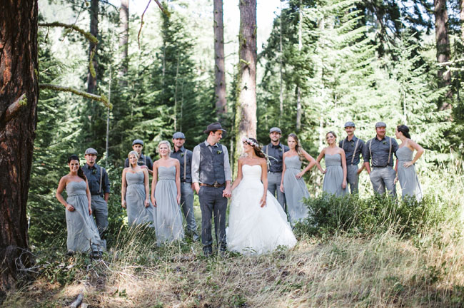 vintageinspired woodland wedding brittney jordan
