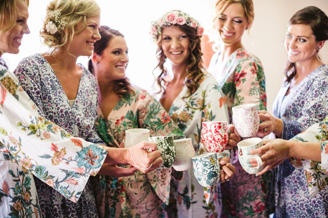 anthro bridesmaid mugs