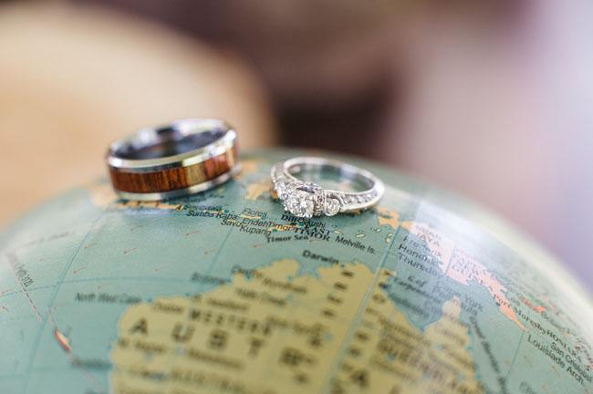 wooden groom's ring