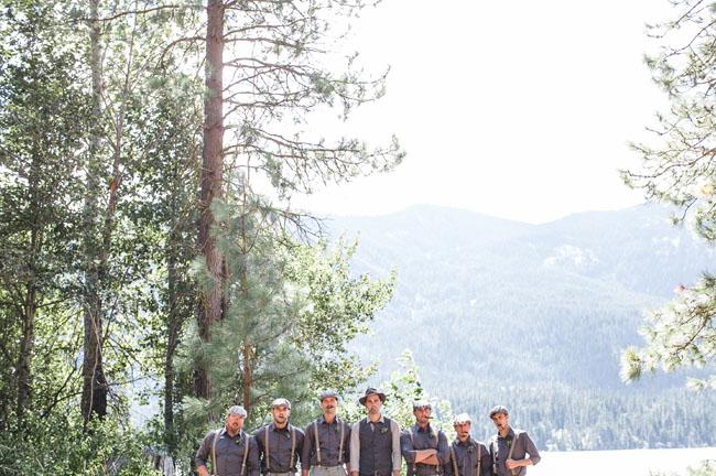 vintage inspired groomsmen