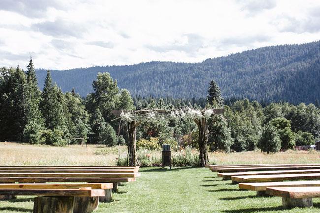 woodsy Washington ceremony