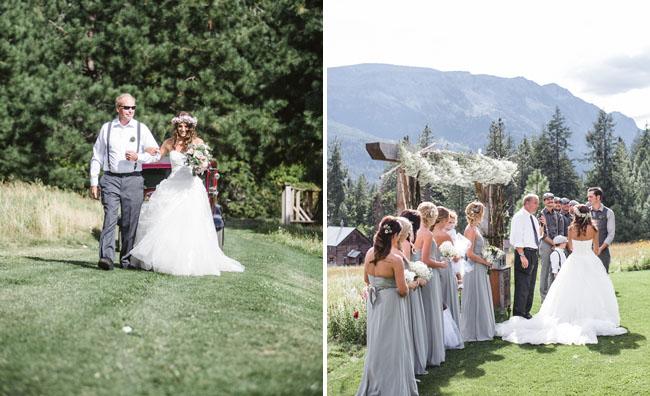 Woodsy Washington wedding