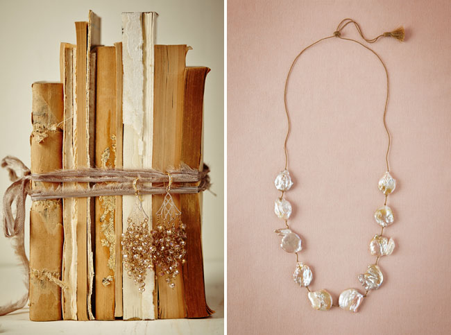 pearlized necklace