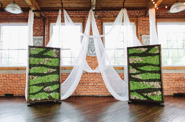 Diy warehouse wedding