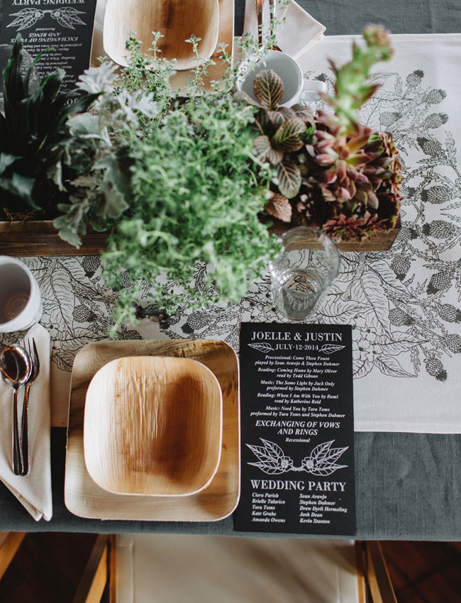 wooden recyleable plates