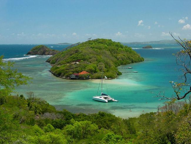 Sailing in Martinique