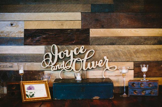 lasercut wooden sign