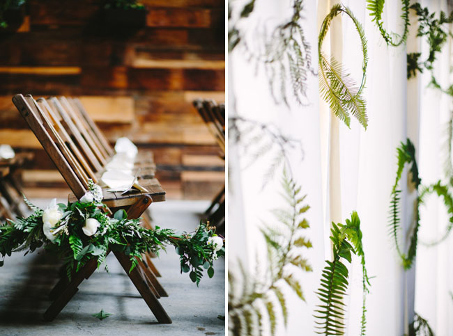 wreath wall backdrop