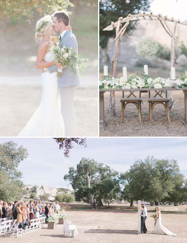 cali ranch wedding