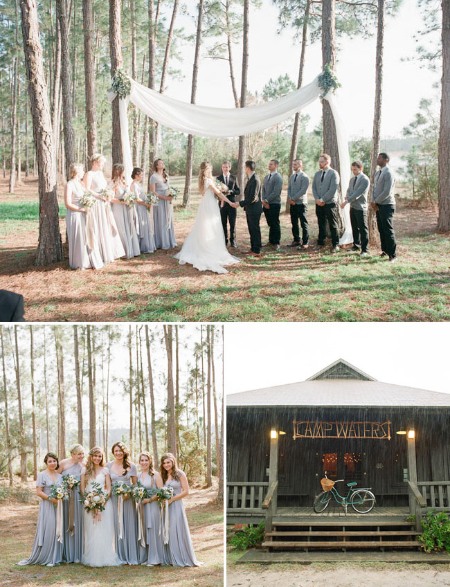 Florida Camp Wedding