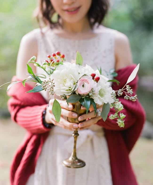 berry bud vase