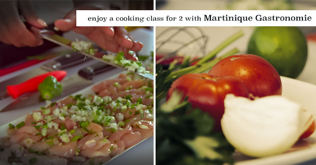 Enjoy a cooking class for two