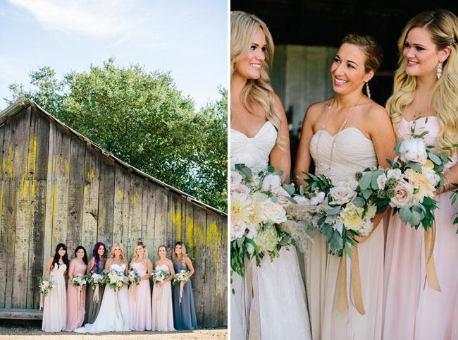 maxi bridesmaids