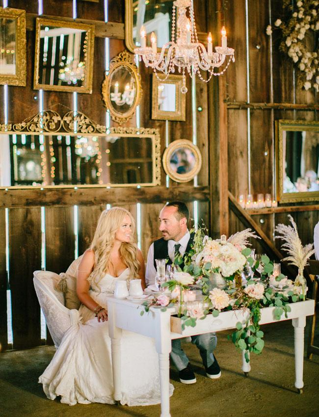 Dana Powers barn wedding