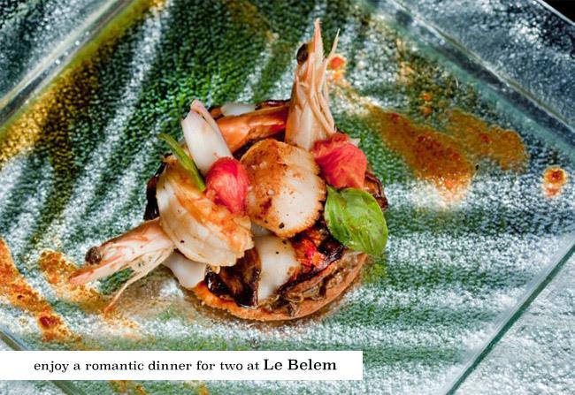 Dinner at Le Belem