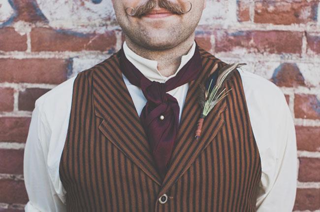 Edwardian groomsmen