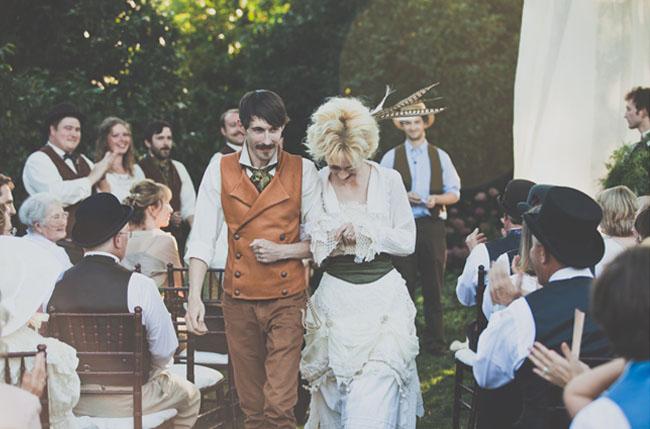 Edwardian inspired wedding
