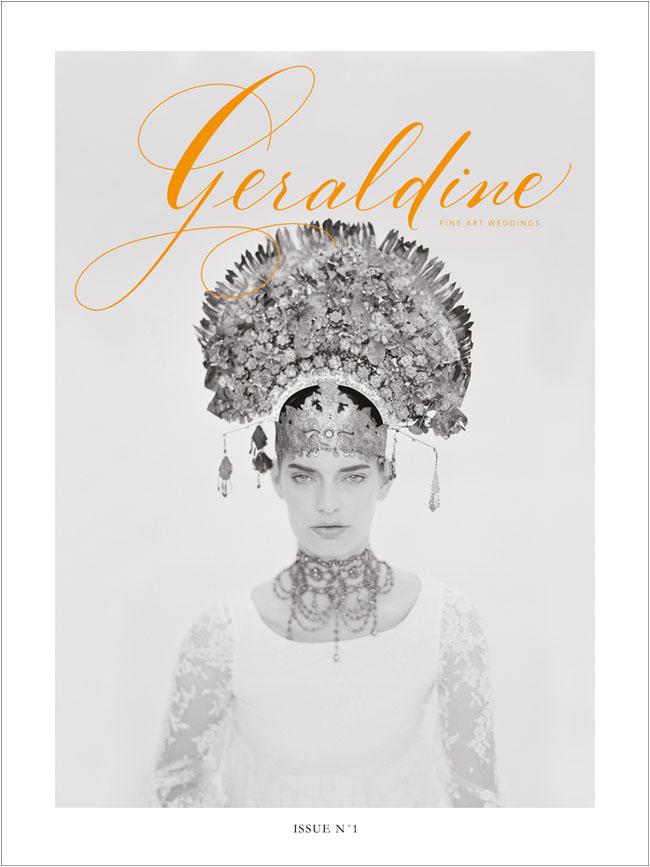 geraldine magazine cover