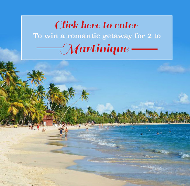 Win A Romantic Getaway For Two To Martinique