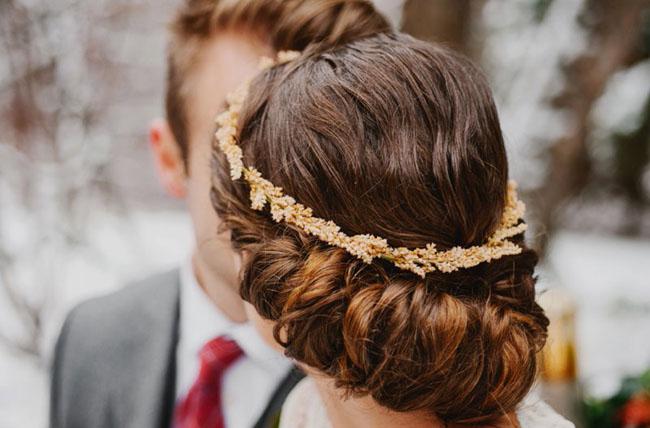 gold leaf crown
