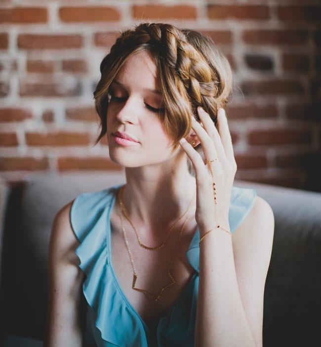 braided hair crown