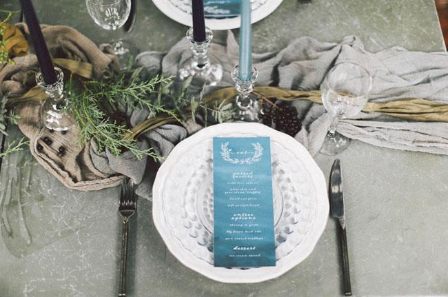 indigo wreath menu