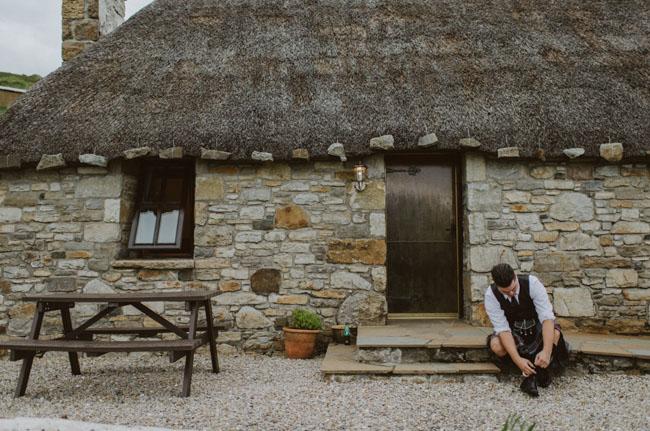 Scotland Isle of Skype elopement