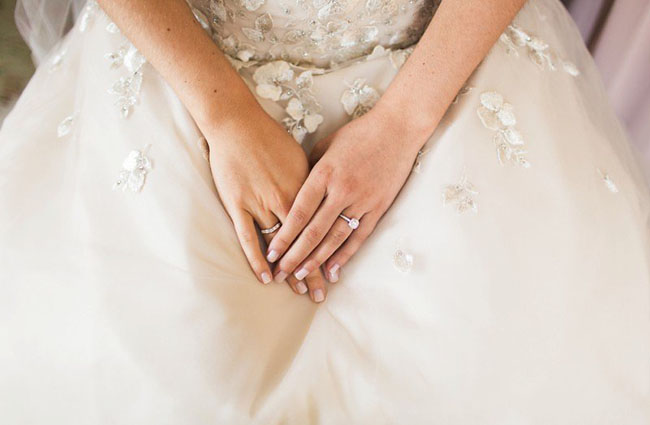 flower dress details