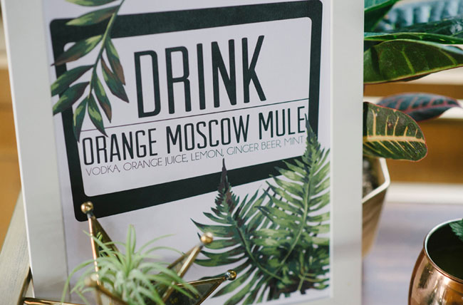 moscow mule cart