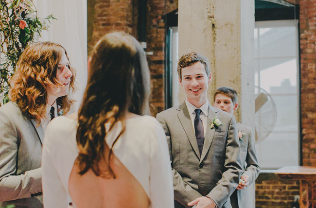 indoor Brooklyn ceremony