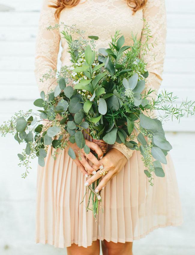 leafy bouquet