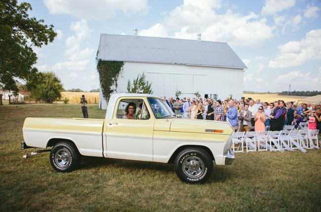 vintage truck getaway