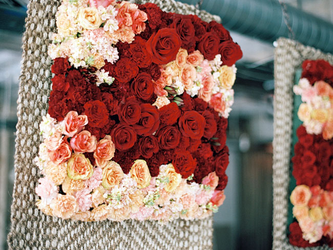 flower wall piece