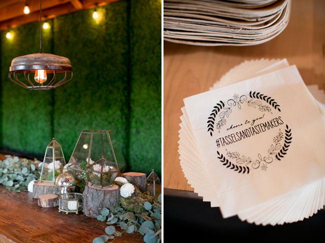 Tassels & Tastemakers napkins