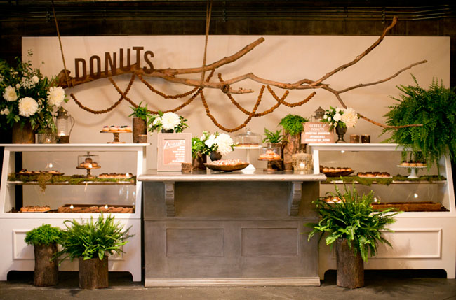 Tassels & Tastemakers donut bar