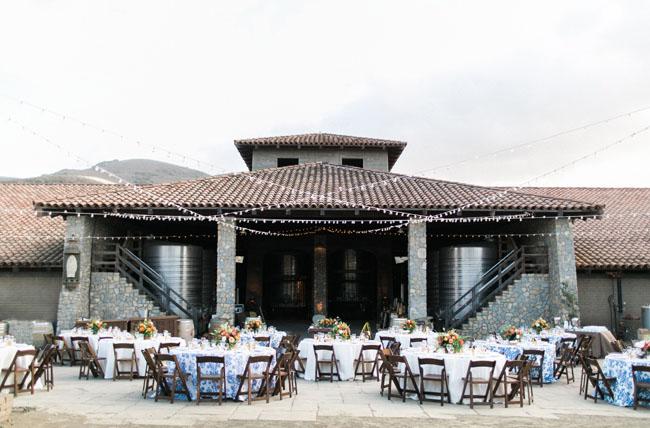 Santa Barbara vineyard wedding